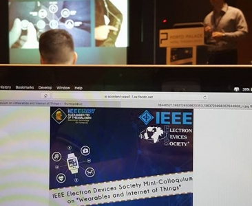 """IEEE Electron Devices Society Mini-Colloqulum on """"Wearables and Internet of things"""""""